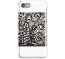 Proud as a peacock iPhone Case/Skin