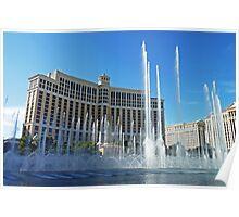 Bellagio Fountain Poster
