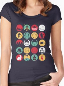 And Now for Something Completely Different  Women's Fitted Scoop T-Shirt