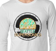 SONICS WHITE Long Sleeve T-Shirt