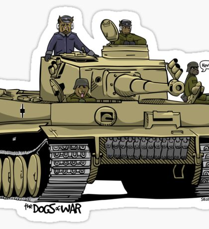 The Dogs of War: Tiger Tank Sticker