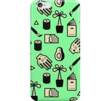 Pattern - Usuals Objects iPhone Case/Skin