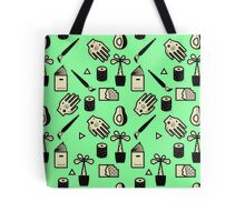 Pattern - Usuals Objects Tote Bag