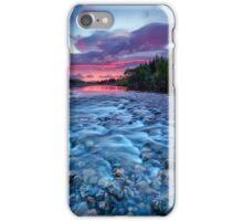 River run dawn iPhone Case/Skin