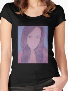 Sweet Beauty Women's Fitted Scoop T-Shirt
