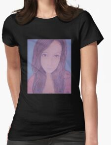 Sweet Beauty Womens Fitted T-Shirt