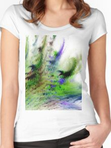 Colours of Nature Women's Fitted Scoop T-Shirt