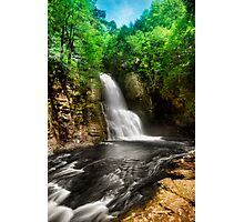 Bushkill Waterfalls Photographic Print