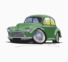Morris Minor Green by Richard Yeomans