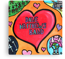 DMB Tribute Canvas Print