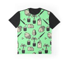 Pattern - Usuals Objects Graphic T-Shirt