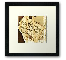 The Story Behind The Theory Of String Framed Print
