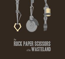 The rock, paper, scissors of the Wasteland Unisex T-Shirt