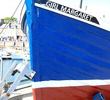 Girl Margaret ~ Anstruther Harbour by ©The Creative  Minds