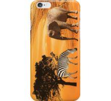 African Safari iPhone Case/Skin
