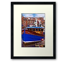 Whitby Fishing Trawler. Framed Print