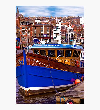 Whitby Fishing Trawler. Photographic Print