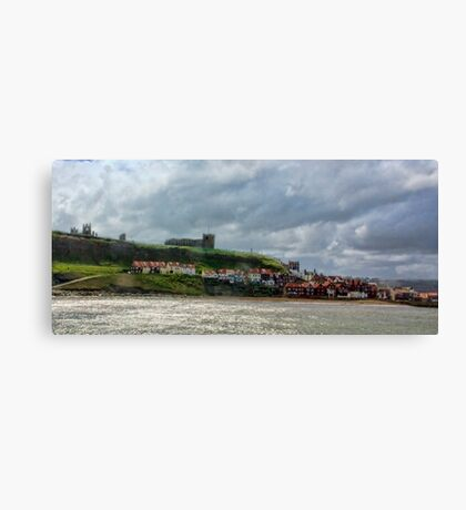 Over Looking Whitby Canvas Print