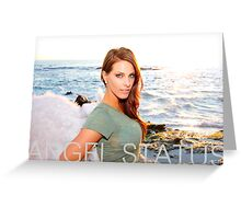 Angel Status® Angel Vanessa Art Collection. (Limited Edition) Greeting Card