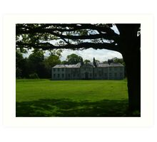 Newhailes House Art Print