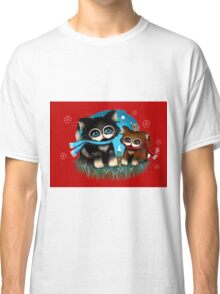 Christmas Kittens Classic T-Shirt