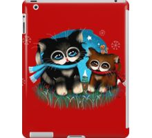Christmas Kittens iPad Case/Skin