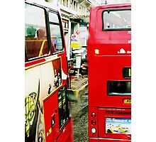 London Busses ... Photographic Print