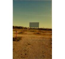 the last movie screen Photographic Print