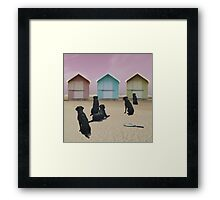 Dogs Day Out Framed Print
