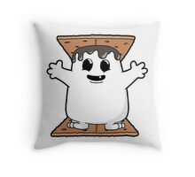 Adipose Smores! Throw Pillow