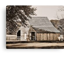 Plain & Simple Canvas Print