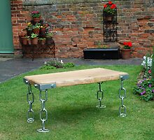 CROFT HOUSE FURNITURE ARTISAN STEVE MALLENDER - STRAIGHT CHAIN BASE TABLE by Tuartkatz