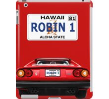 """Robin 1""  Magnum Hawaii Plate iPad Case/Skin"