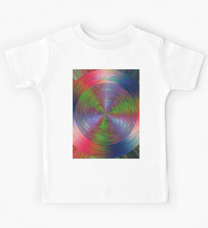 0998 Abstract Thought Kids Tee