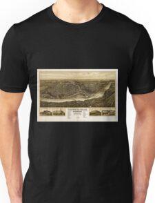 Panoramic Maps Chippewa-Falls Wisonsin sic county-seat of Chippewa County 1907 Unisex T-Shirt