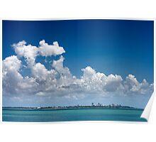 Cloudy Darwin Poster