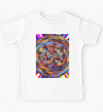 0994 Abstract Thought Kids Tee