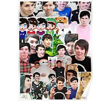 Phan Collage Poster