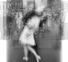 Sailor Kissing Woman by Steve Socha