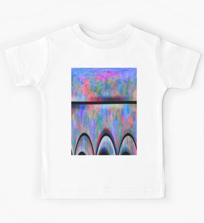 0987 Abstract Thought Kids Tee