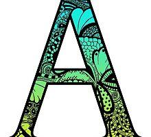 A Letter Doodle by trendysticks