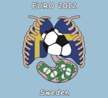 Sweden in Euro 2012 by dreamkripted