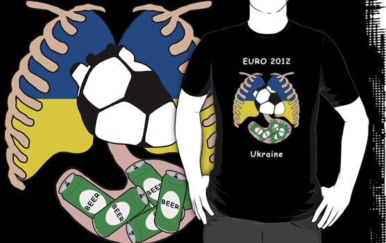 Ukraine in Euro 2012 by dreamkripted