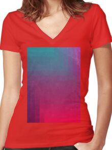 In Between Women's Fitted V-Neck T-Shirt