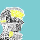 Sherlock Typography Art by andersaur