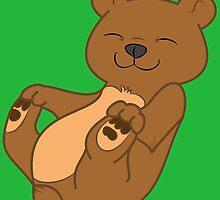 Brown Bear Cub by Grifynne