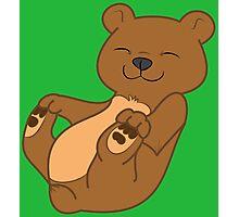 Brown Bear Cub Photographic Print