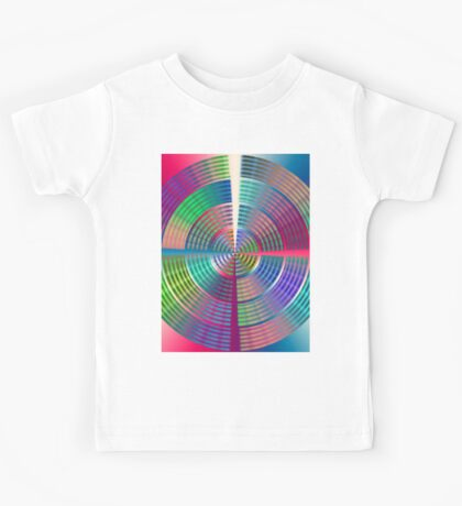 0993 Abstract Thought Kids Tee