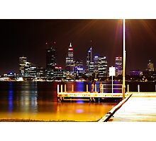 South Perth Jetty, Swan River Photographic Print