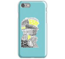 Sherlock Typography Art iPhone Case/Skin
